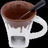 Kép 2/2 - Csokifondü szett Csokoládé - 3 részes - felülről
