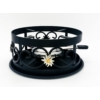 Kép 1/4 - Rezsó Havasi gyopár, spirituszégővel, fekete színű