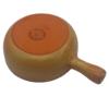 Kép 3/3 - Sajtfondü edény Tabacco - bézs színű - alulról