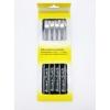 Kép 2/2 - Villa sajtfondühöz Sziluett - műanyag markolattal - fekete színű - csomag