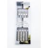 Kép 2/2 - Villa sajtfondühöz Masszív - rozsdamentes acél nyelű - ezüst színű - csomag