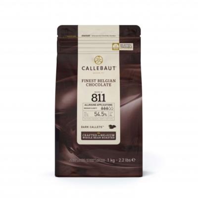 Callebaut belga étcsokoládé pasztilla, 1kg