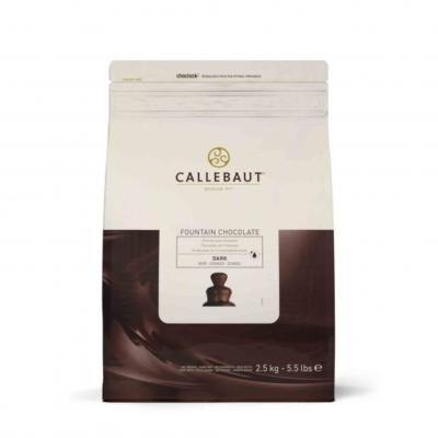 Callebaut belga étcsokoládé pasztilla szökőkútba, 2.5kg