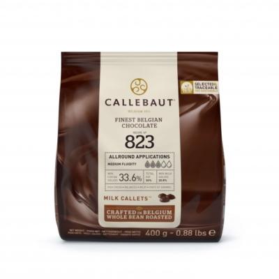 Callebaut belga tejcsokoládé pasztilla, 400g