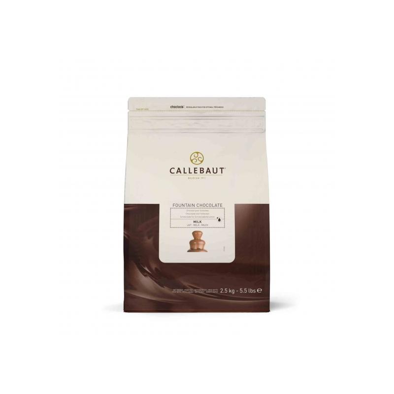 Callebaut belga tejcsokoládé pasztilla szökőkútba, 2.5kg