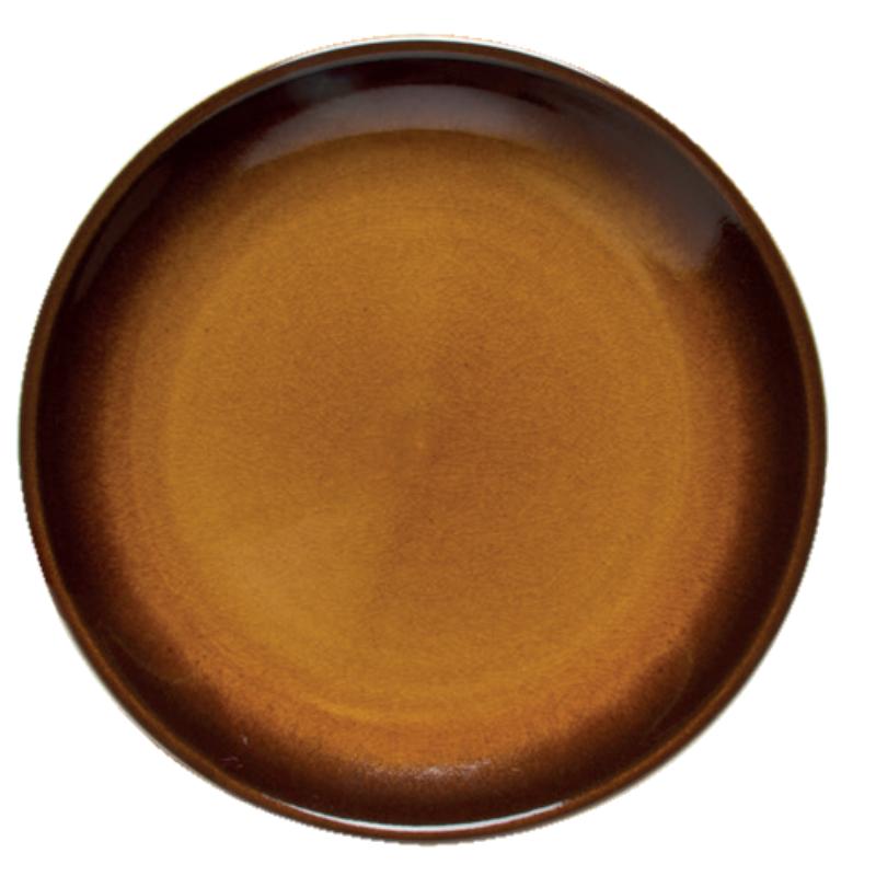 Tányér Szerecsendió, barna színű