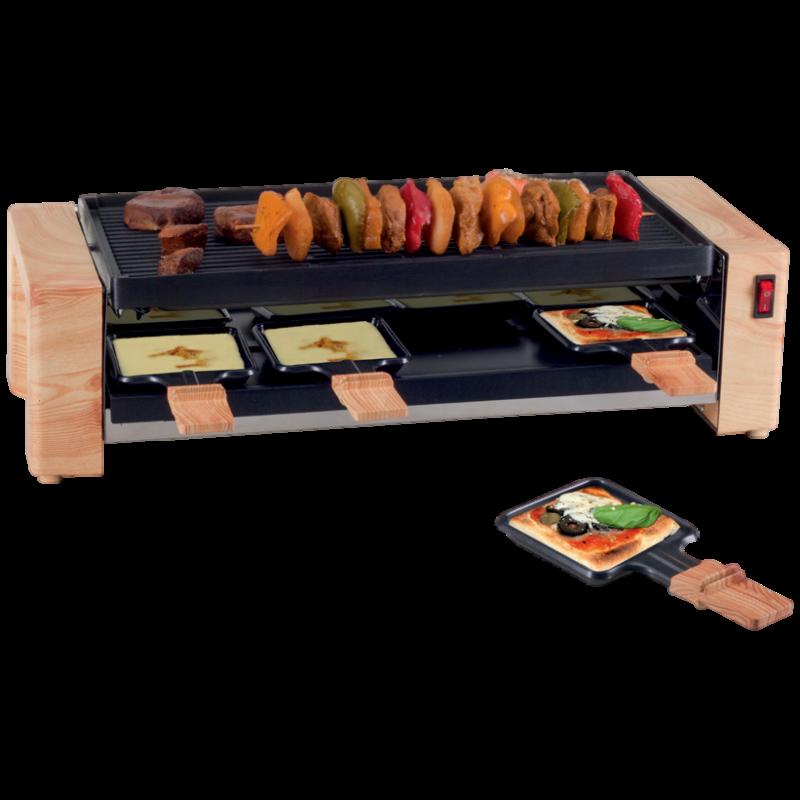 """Raclette sütő """"Fa grill és pizzasütő"""", 1450 W"""